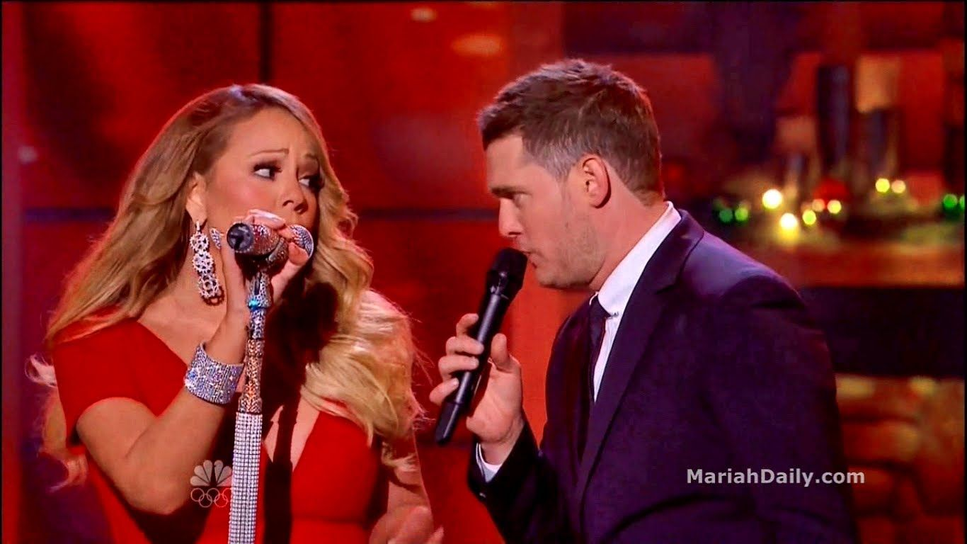 mariah carey all i want for christmas is you duet with michael bubl always a favorite
