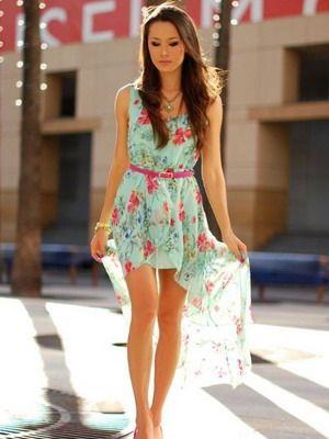Фото красивые и лёгкие платья
