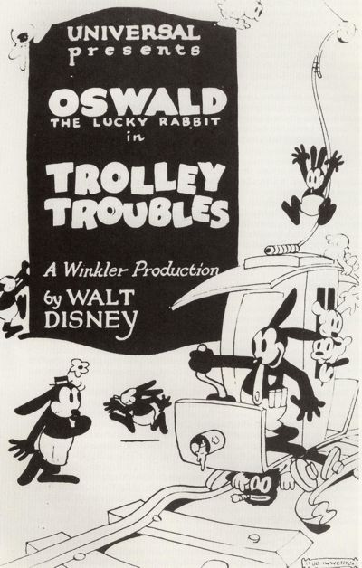 Trolley Troubles poster - Oswald the Lucky Rabbit - Wikipedia, the free encyclopedia