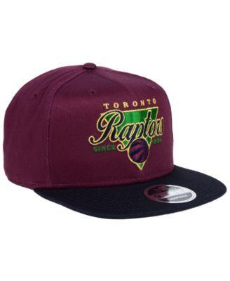 31b6c14c695 New Era Toronto Raptors 90s Throwback 9FIFTY Snapback Cap - Purple  Adjustable