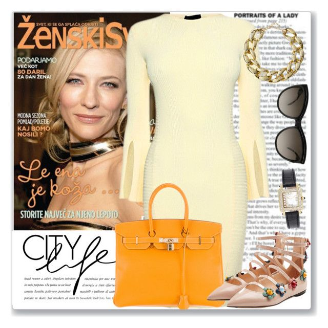 Celeb Style: Cate Blanchett by coraline-marie on Polyvore featuring polyvore fashion style Fendi Hermès Kenneth Jay Lane Chopard Alexander McQueen clothing