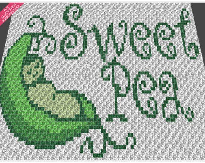 Baby Graphgan Pattern Corner To Corner C2c Crochet Its A Boy