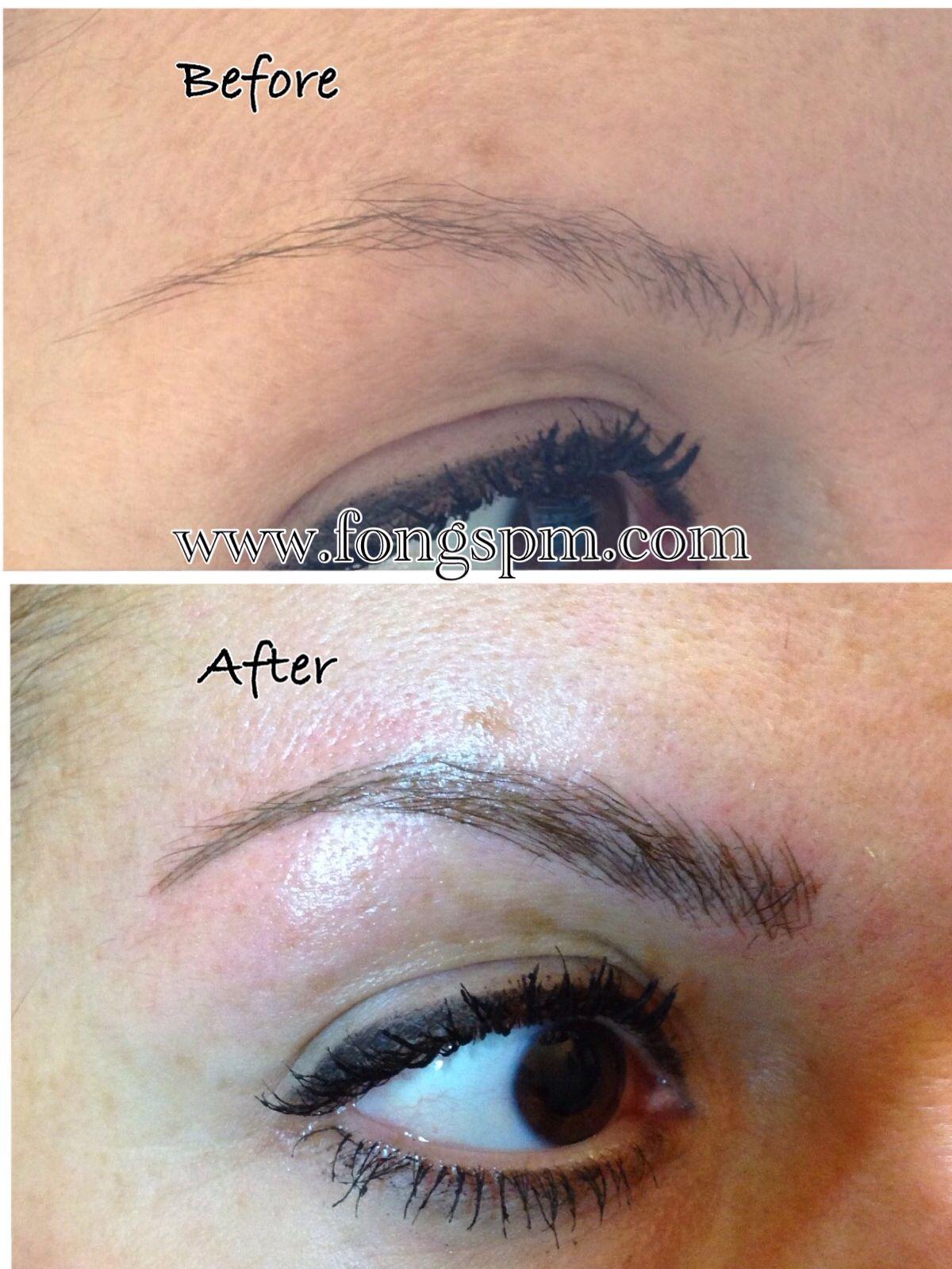 Yin Jeune's Semi Permanent Eyebrows Makeup, created a