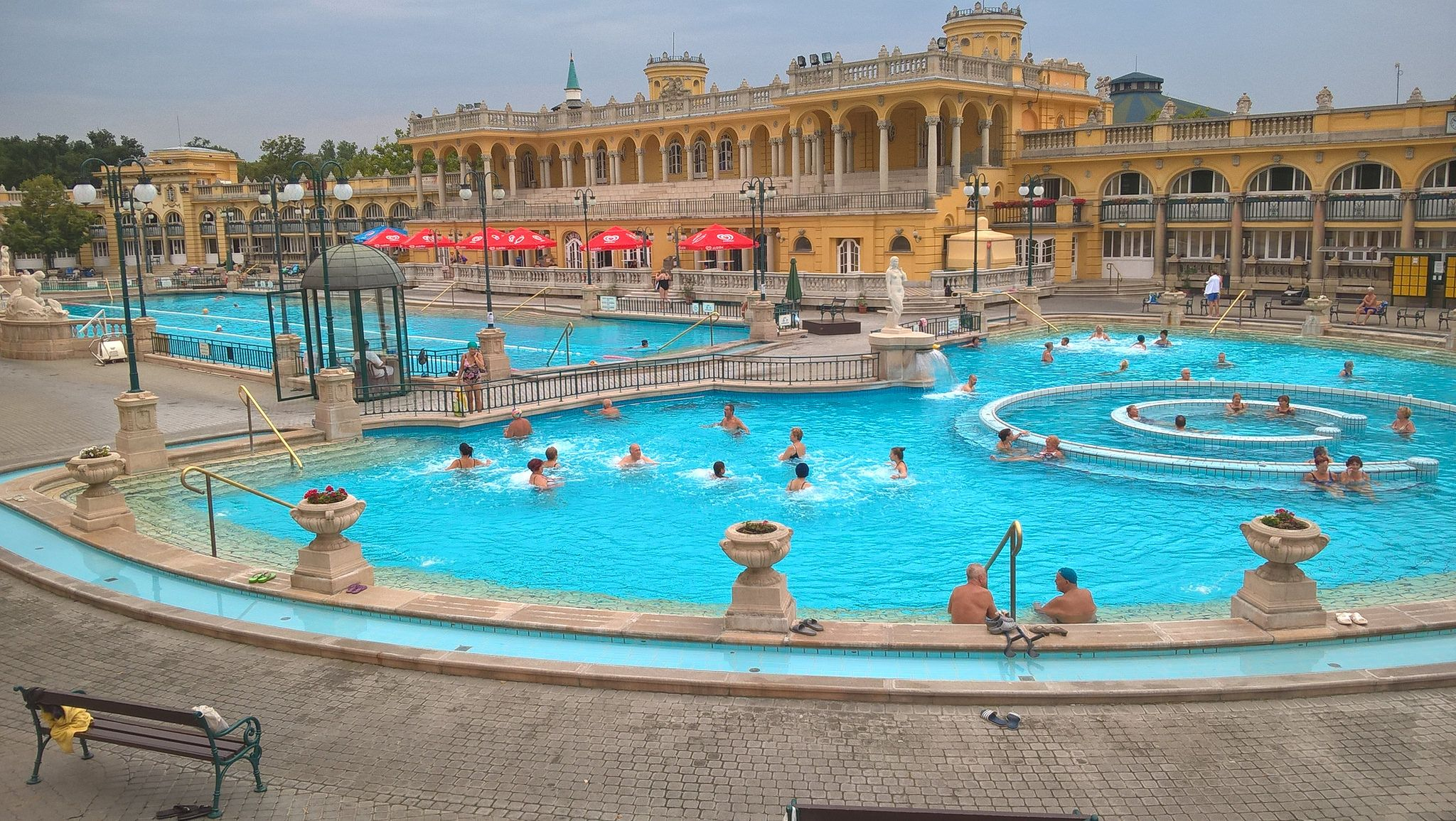Szechenyi Thermal Bath Bath Outdoor Travel