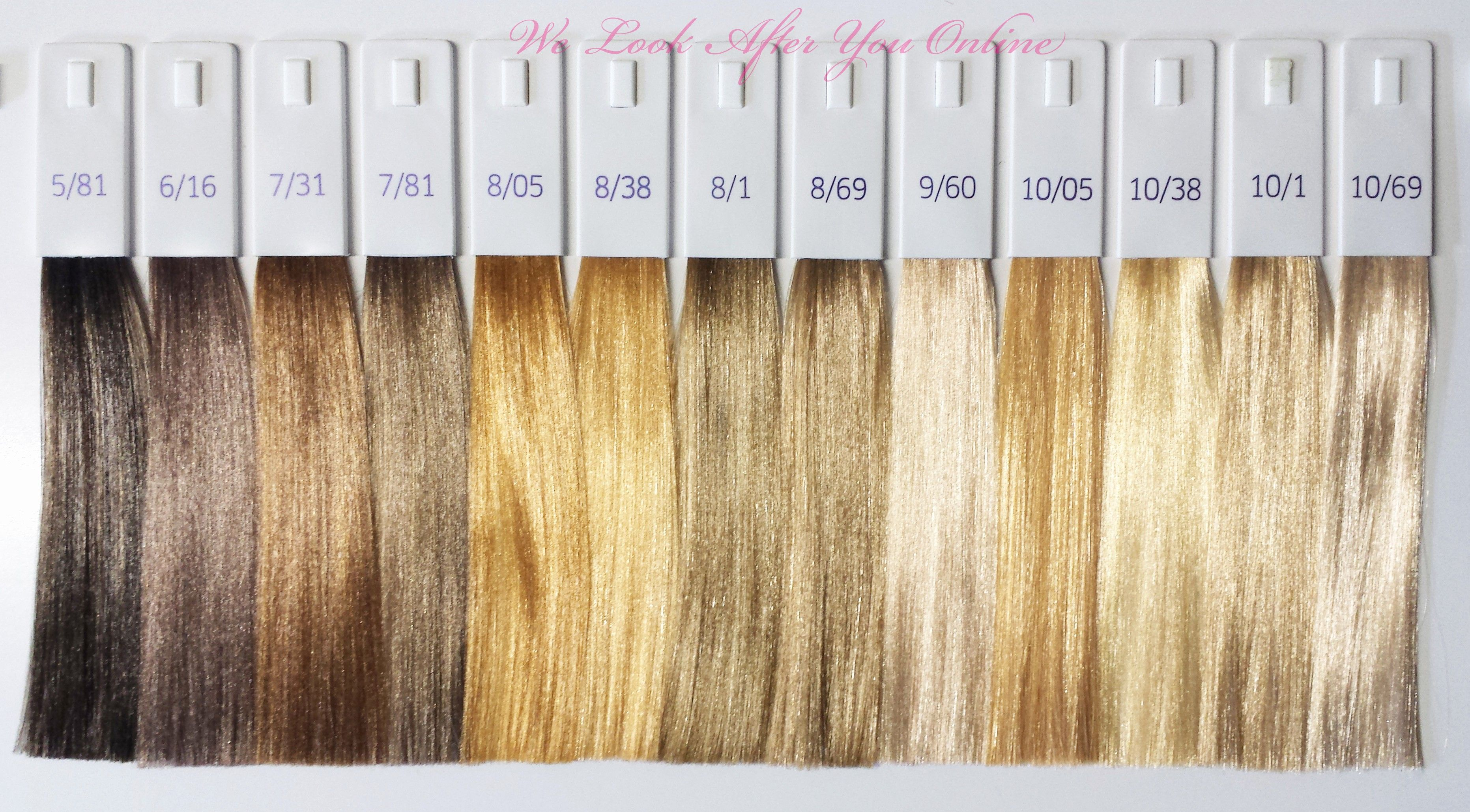 Wella hair color chart lovely and shades also rh pinterest