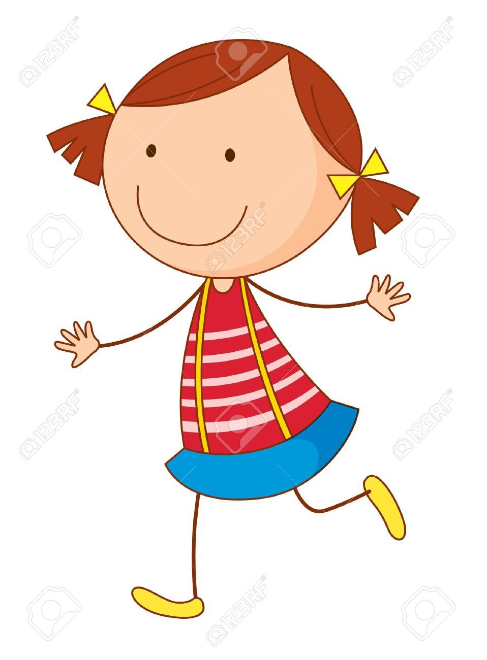 image result for pigtail cartoon - Cartoon Kid Images