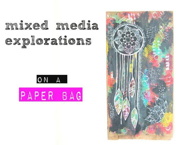 heArt Makes: mixed media explorations