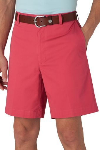 Southern Tide, Channel Marker II Shorts - Flat Front, Red Snapper, 42