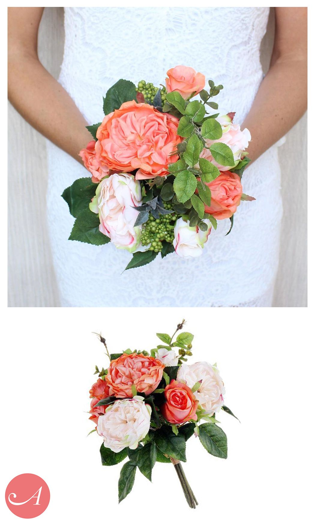 Bouquets Under 25 At Afloral Com Pre Made Silk Flower Bouquets Look Better Than Fresh A Artificial Wedding Bouquets Wedding Bouquets Wedding Bouquets Online