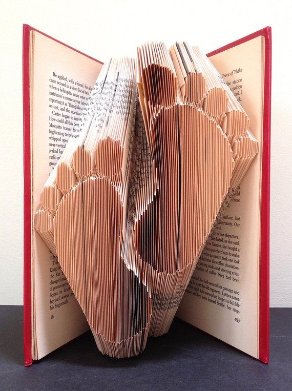 Baby Feet Book Folding Pattern Diy Gift For Folded Book Art Very