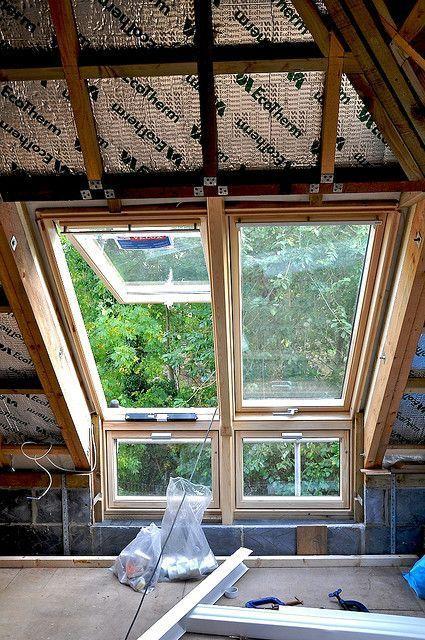 Dachfenster von VELUX gelten als besonders hochwertig – Carmen Mathias #hausdesign
