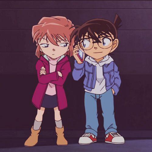 Conan and Haibara | Detective Conan | Pinterest | Kaito ...