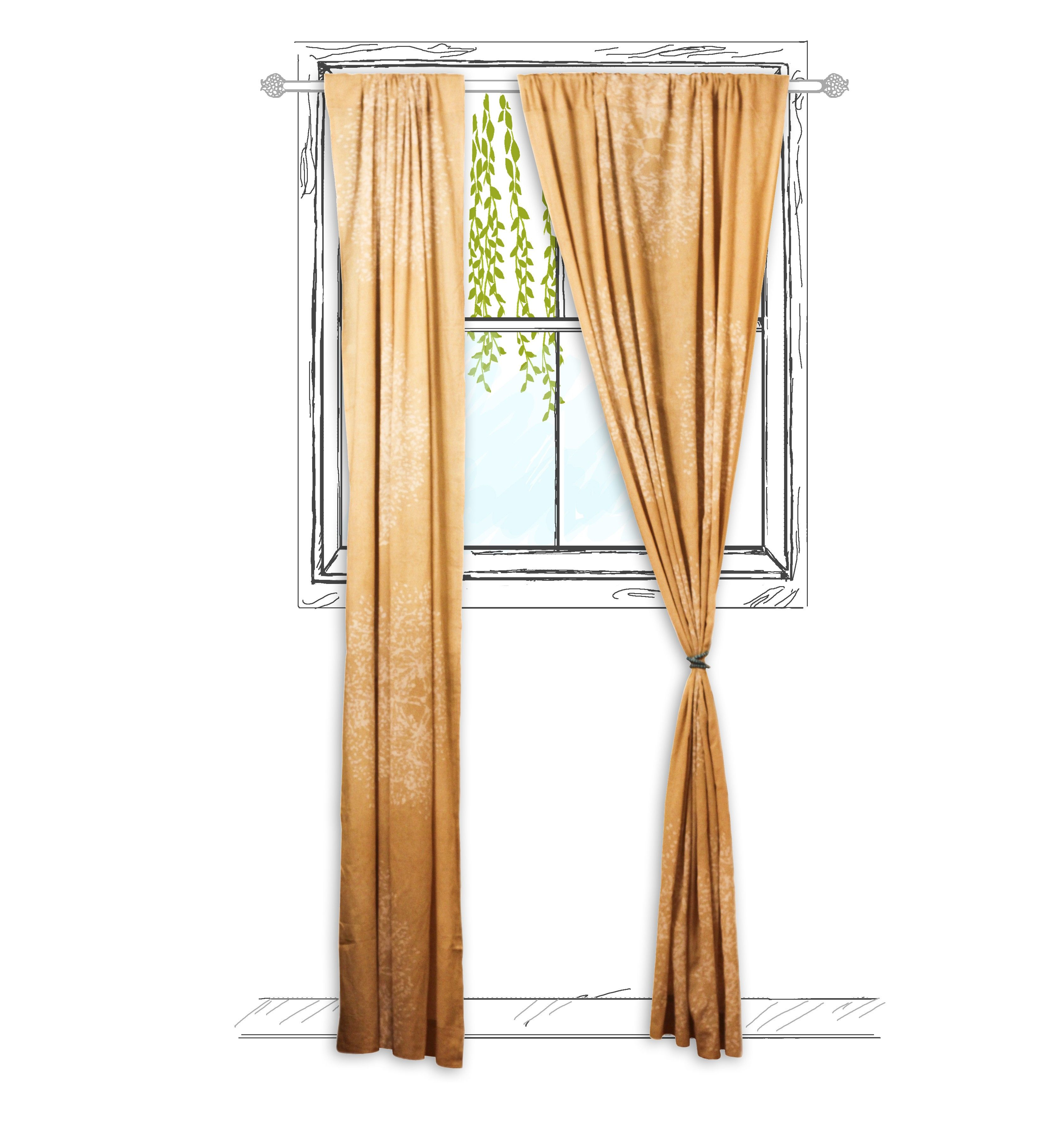 Tree Forest Curtain (One Panel)
