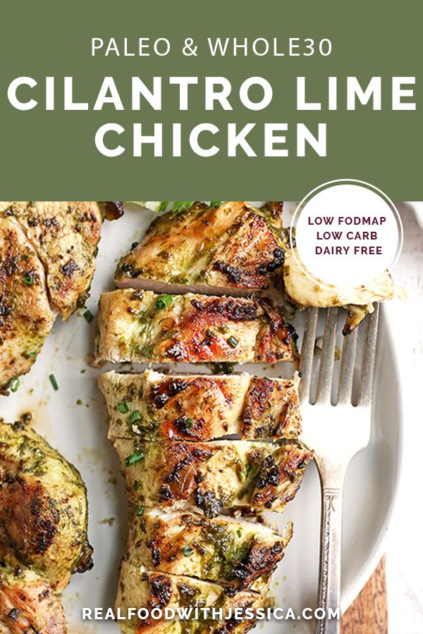 Photo of This Paleo Whole30 Cilantro Lime Chicken is easy, quick, and so flavorful. It's …
