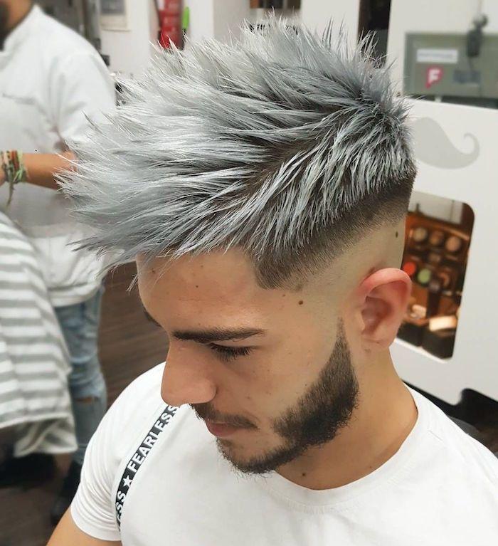 Model de coiffure homme 2019
