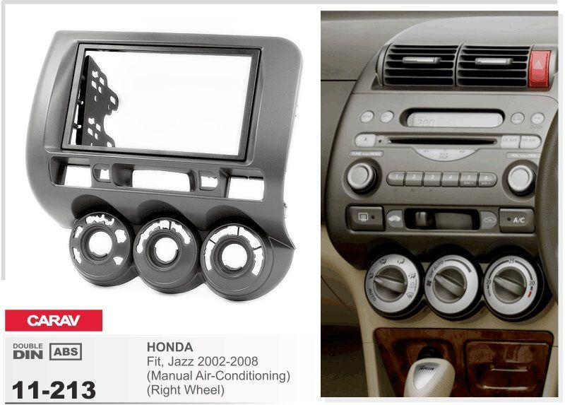 Frame Car Dvd Radio Android 5 1 1 Autoradio Gps Player Headunit For Honda Jazz 2002 2008 Manual Ac R Stereo Dvr Tape Recor Honda Fit Jazz Car Stereo Honda Jazz