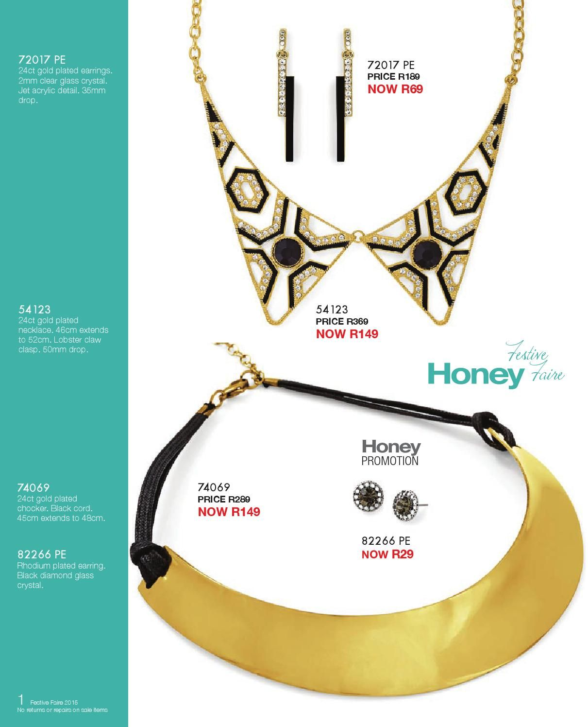Oh ho ho, we couldn't help ourselves! So many gorgeous bejewelled and sparkly things we have that we'd like to see you bedecked  in all things Honey this festive season! So take a look and we're sure you'll find something  charming for yourself, no matter if you've been naughty or nice...