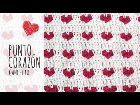 Heart Stitch | Lanas y Ovillos | Crochet | Pinterest | Ganchillo ...