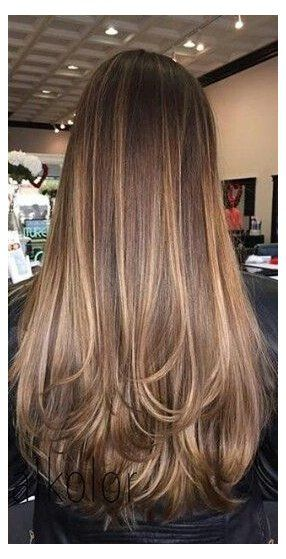Brunette Hair Color With Highlights Straight Pinterest Chandlerjocleve Instagram Chandlercleveland In 2020 Hair Styles Hair Color Balayage Balayage Brunette