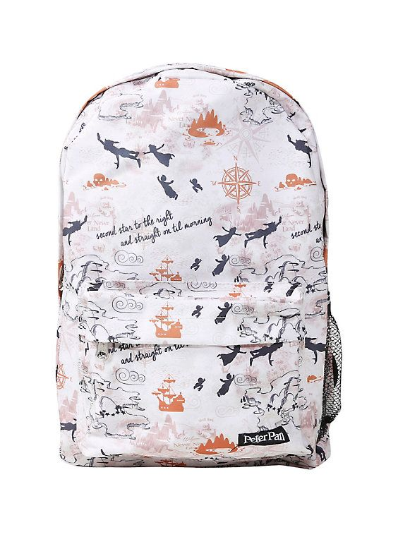 ab1fefbf405 Loungefly Disney Peter Pan Never Land Map Print Backpack  34.90