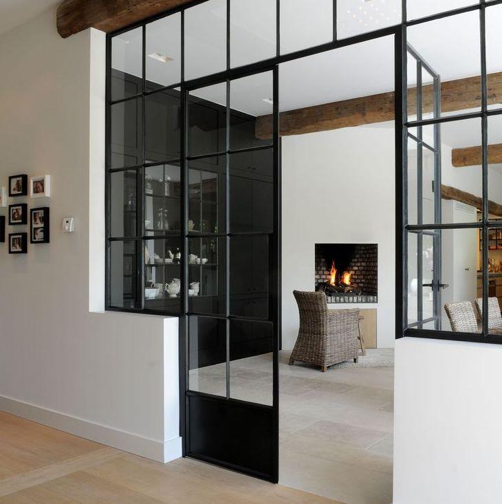 Industrial Kitchen Windows: Black Windows & Doors… One Of My Favorite Design Features