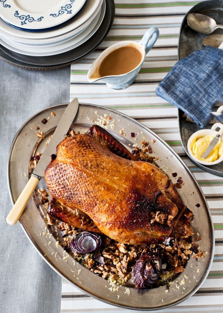 Roast duck with walnut stuffing juna pinterest roast duck english food recipes forumfinder Choice Image