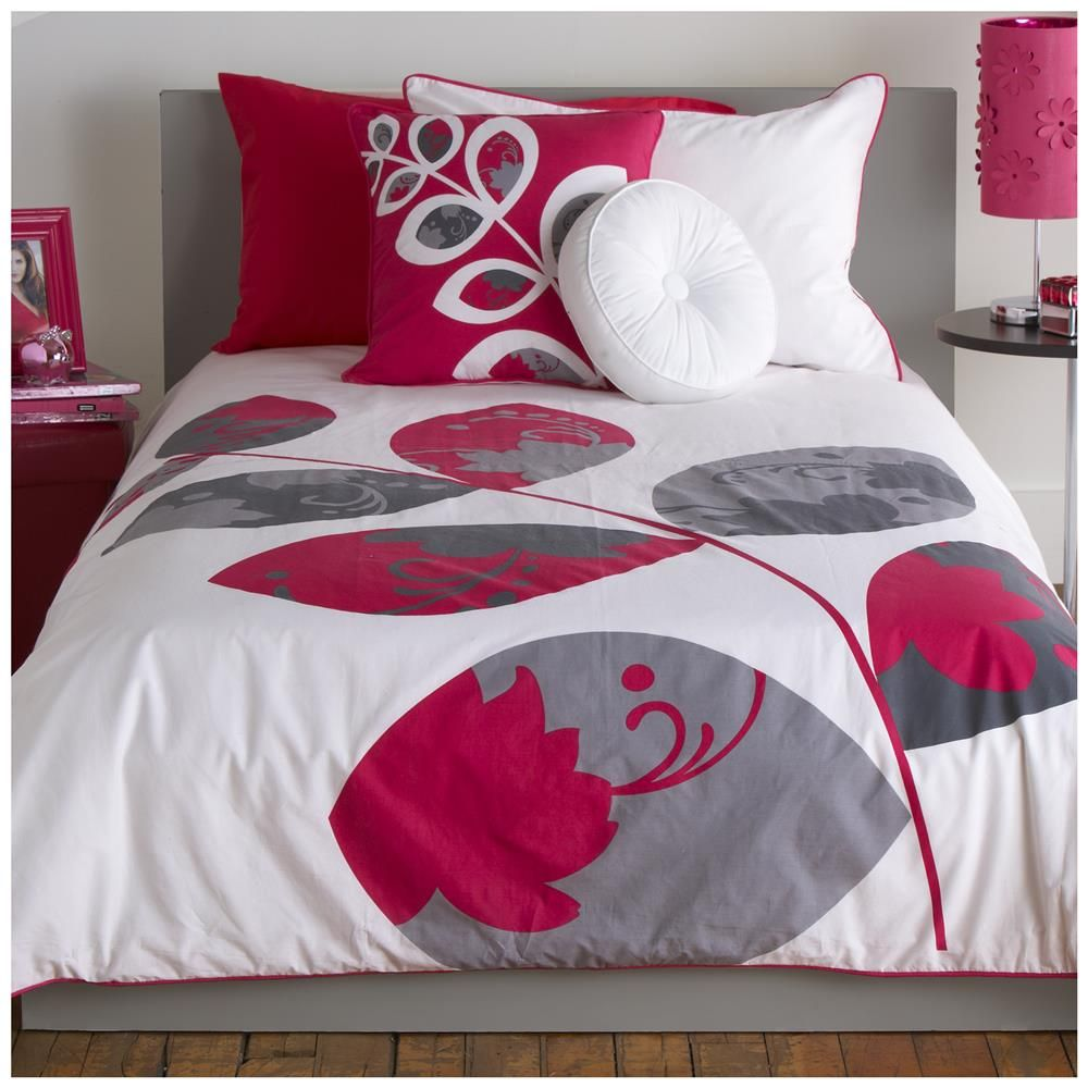 Collection leafy housse de couette ensembles de housses for Housse duvet