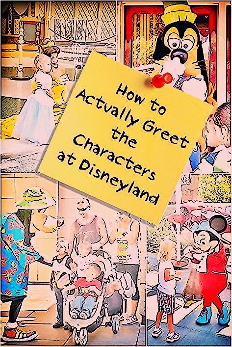 Photo of How to Actually Meet the Disneyland Characters
