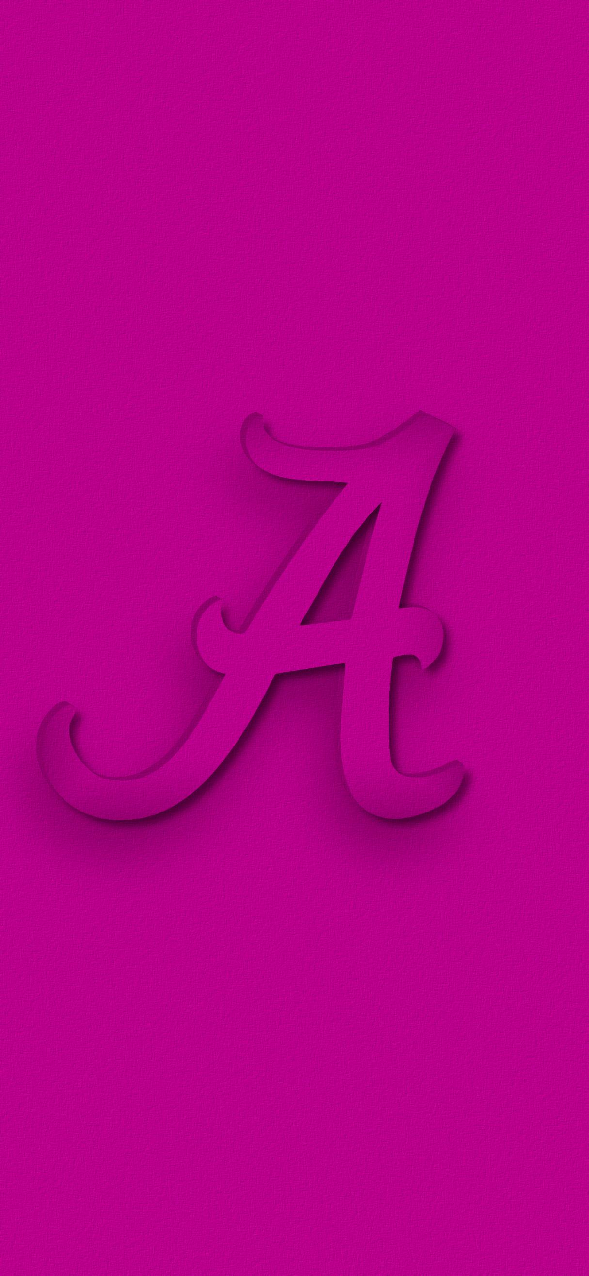 Bama Pink 2 Alabama Wallpaper Alabama Crimson Tide Alabama Tide