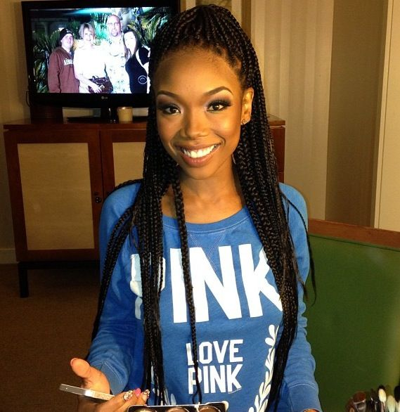 Brandy's new braids