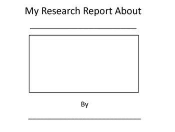 Animal Research Report Template