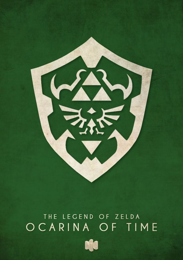 Minimalist Poster Designs By Timmy Burrows. Legend Of Zelda Ocarina Of Time  | Tattoos | Pinterest | Wand Ideen, Dekupiersäge Und Videospiele
