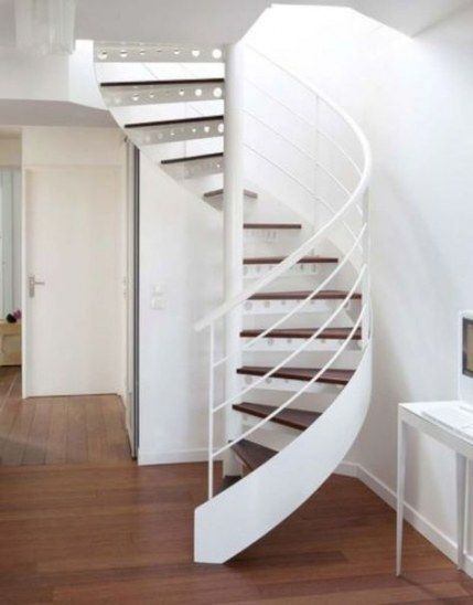 Round Stairs Metal Spiral Staircases 43 Ideas