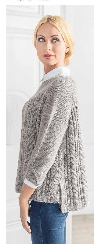 Maskerader 33 | knitting sweaters | Pinterest | Tejido, Dos agujas y ...