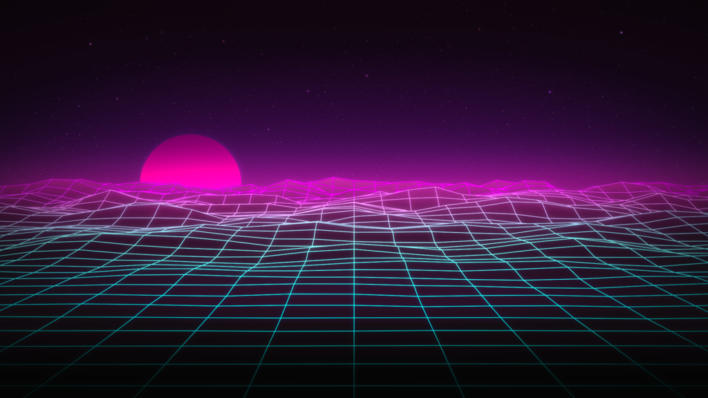 Synthwave Wallpaper By Frozenskullvfx Retrowave Synthwave