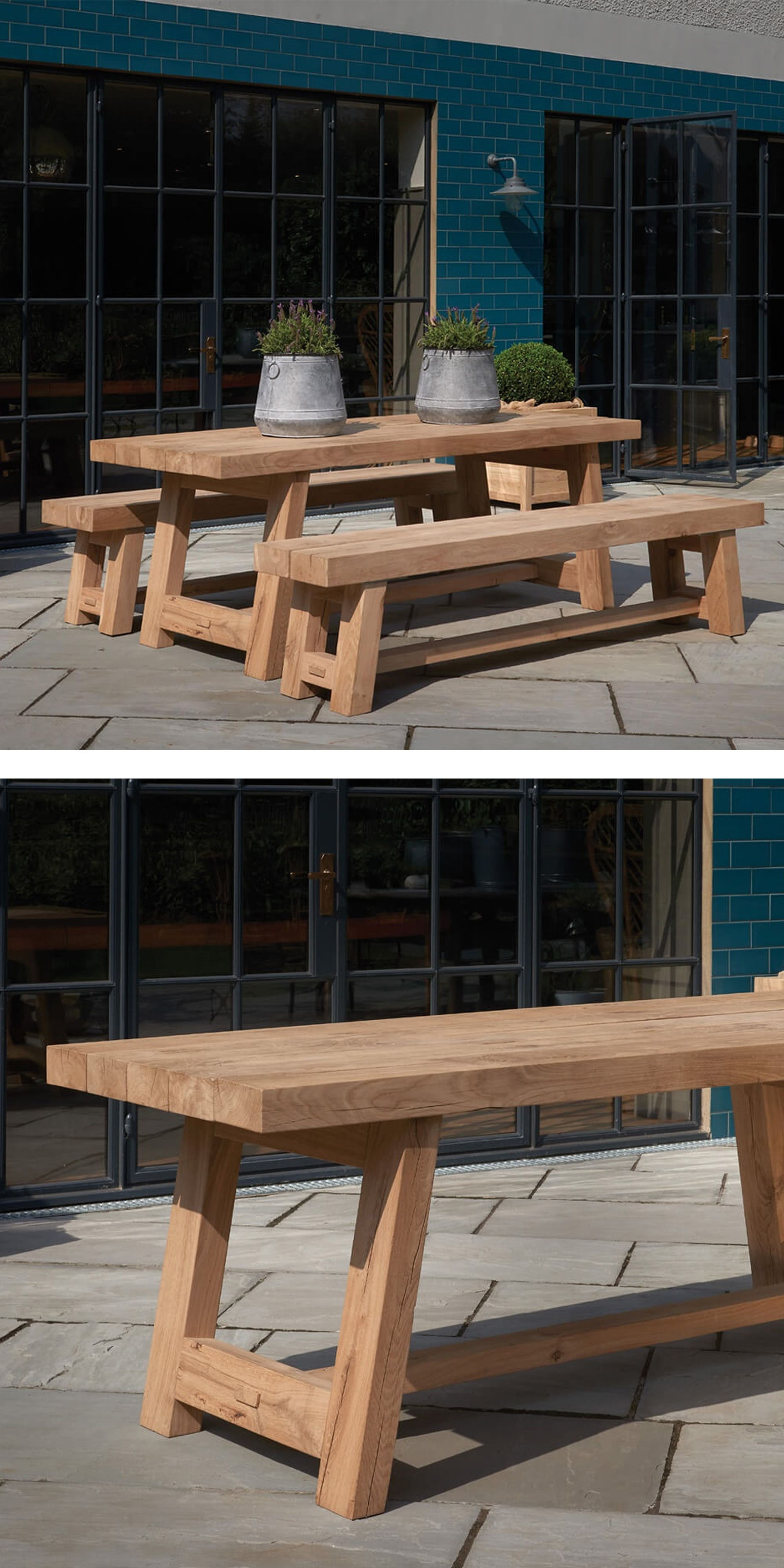 Hewn From Solid Oak And Handcrafted In Indigo S Derbyshire