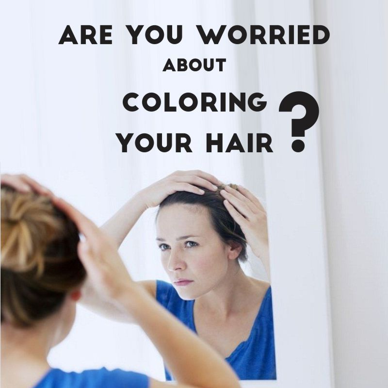 Are you worried about coloring your hair with chemical hair dyes? We ...