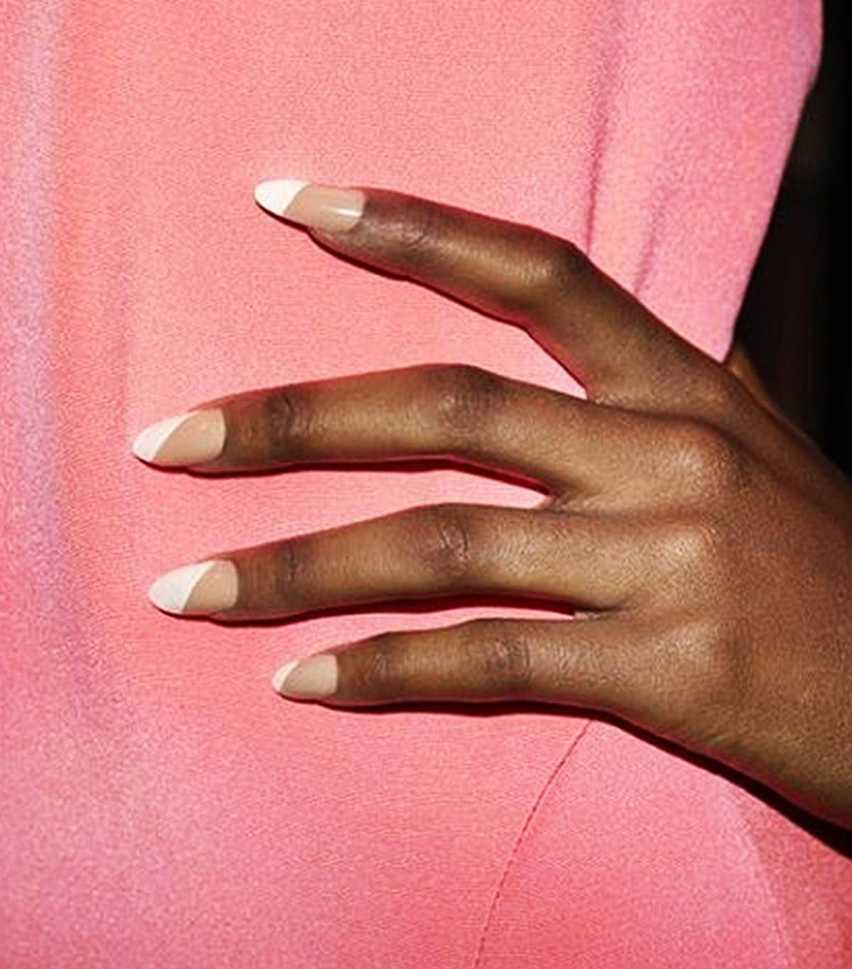 15 Nail Colors That Look Especially Amazing On Dark Skin Tones Beige Nails Colors For Dark Skin Dark Skin Nail Color