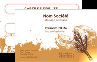 Carte De Visite Boulangerie Super Imprimer MLGI25327