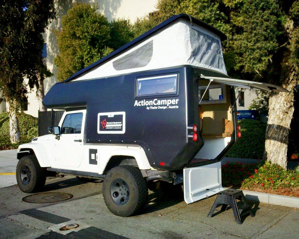 Go Anywhere Jeep Rvdo Want Vintage Rvs Campers Wrangler Camper