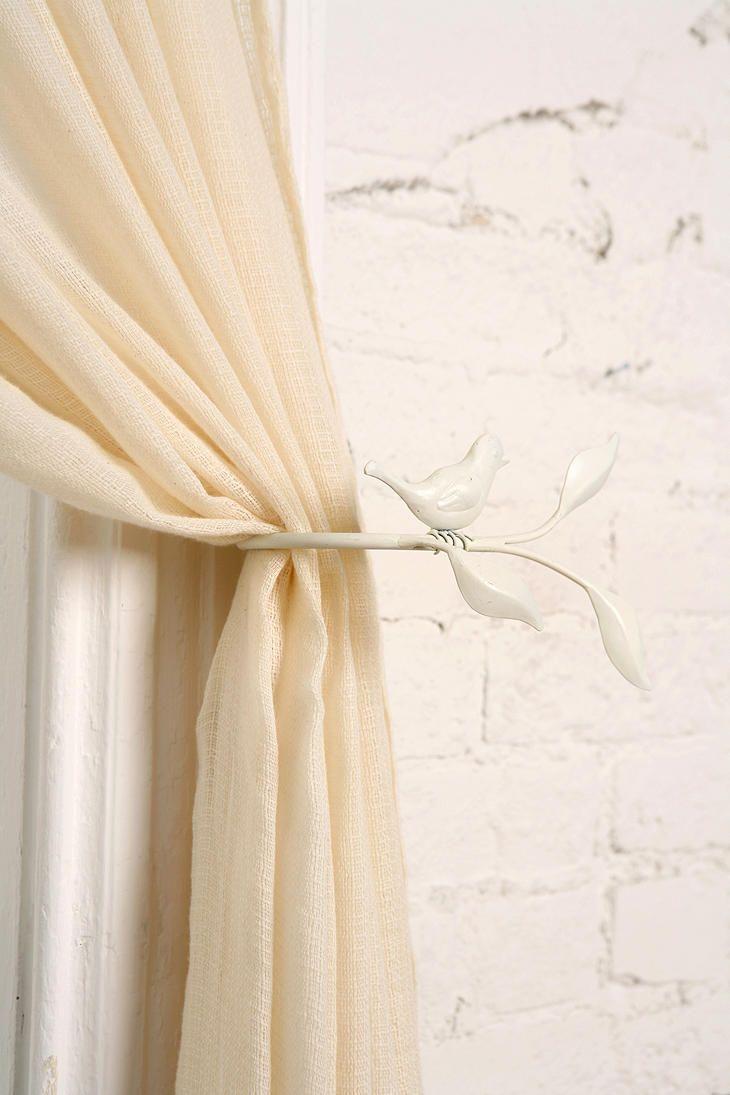 Bird On Branch Curtain Tie Back Curtain Tie Backs Curtain Ties