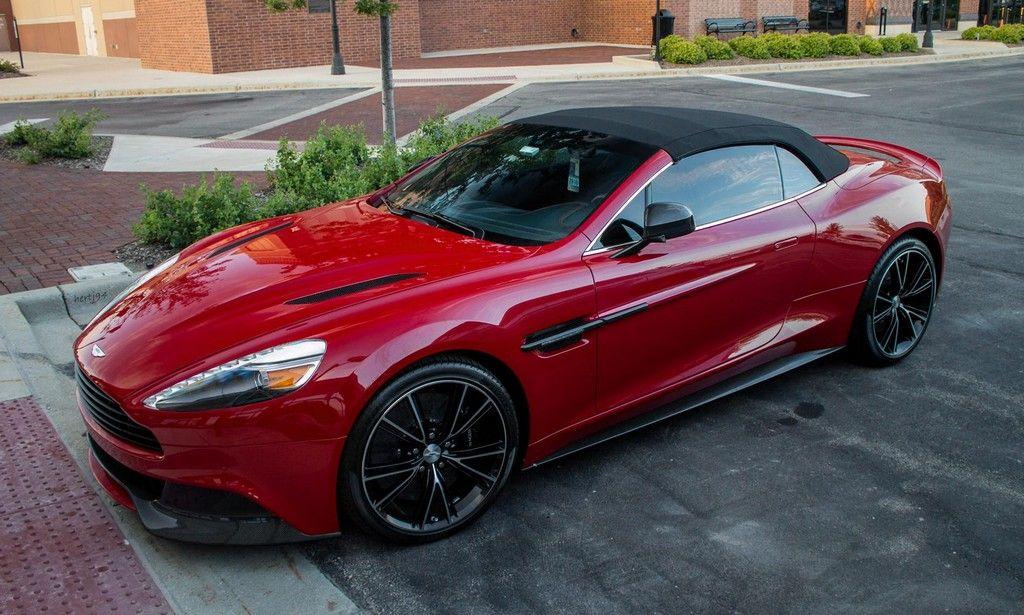 Beautiful Beast Red Aston Martin Vanquish Volante Motorward Aston Martin Aston Martin Vanquish Aston