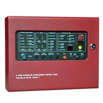 4 Zones Fire Alarm And Gas Extinguishment Panel Fire Alarm System Fire Alarm Alarm System