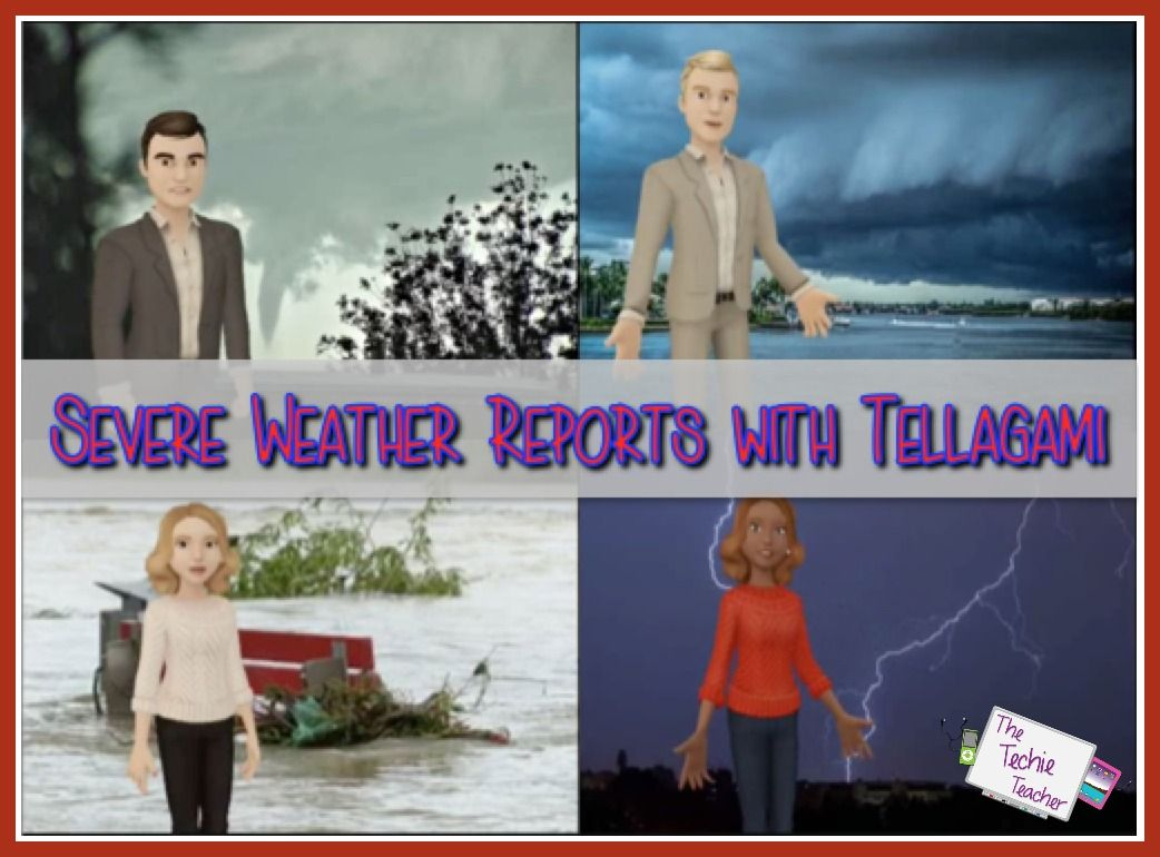Severe Weather Reports iPad Project Learning weather