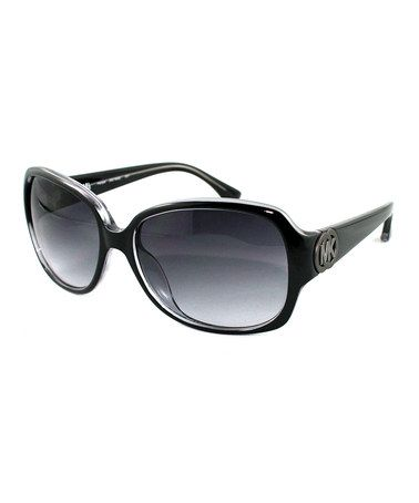 ac2cdc06e1c Take a look at this Black Harper Sunglasses by MICHAEL Michael Kors on   zulily today!