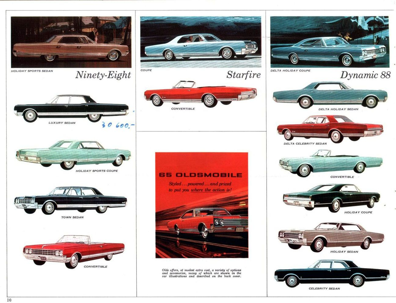 hight resolution of auto brochure 1965 olds