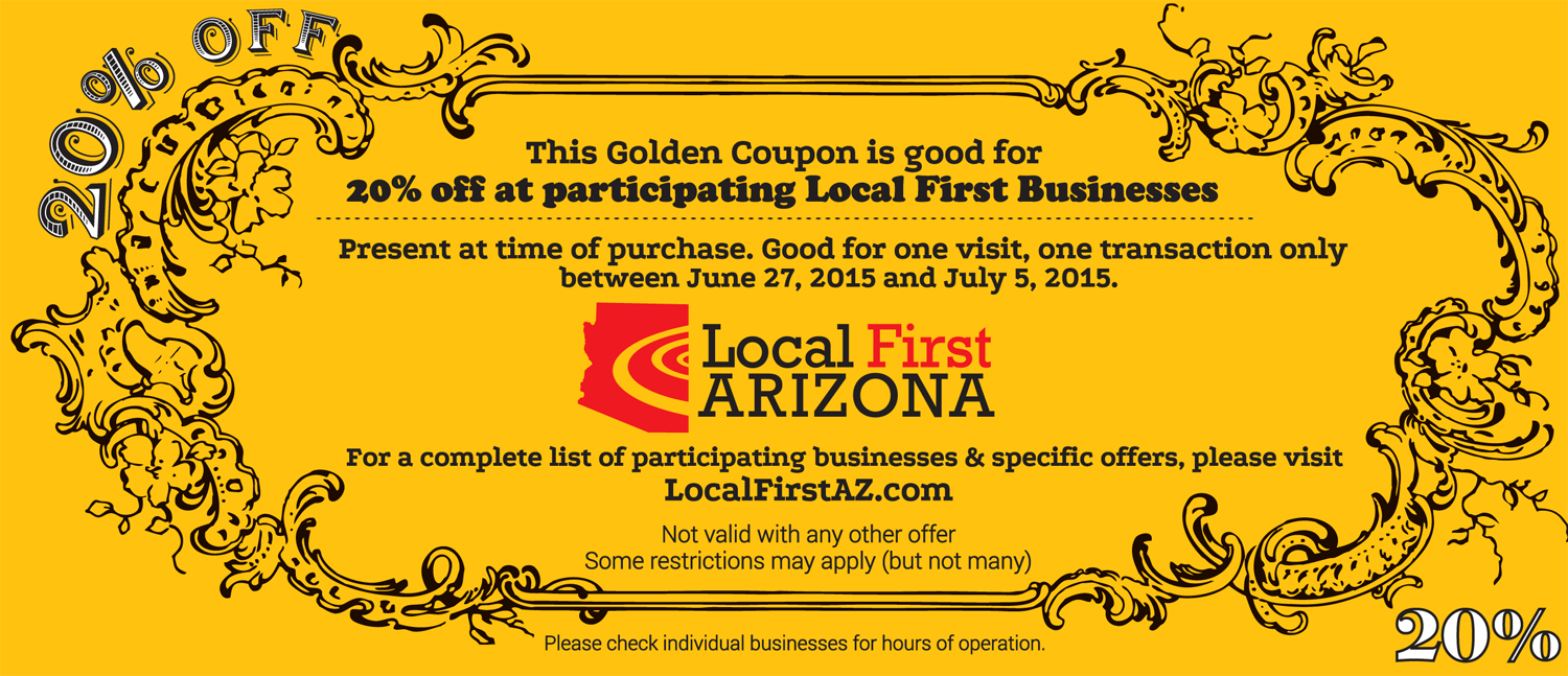Golden Coupon Use PROMO LOCAL20 at