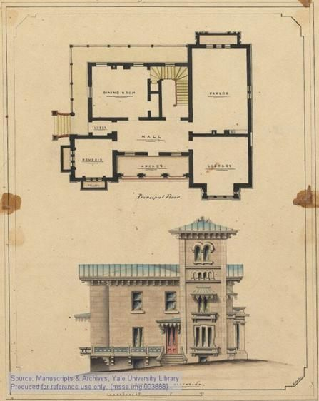 Italianate Floor Plan Architecture Classic Architecture Floor Plans