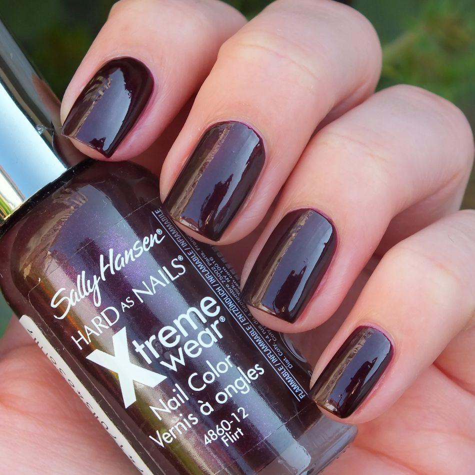 Sally Hansen Xtreme Wear, 210 Flirt   Nails - One Colour (One Nail ...