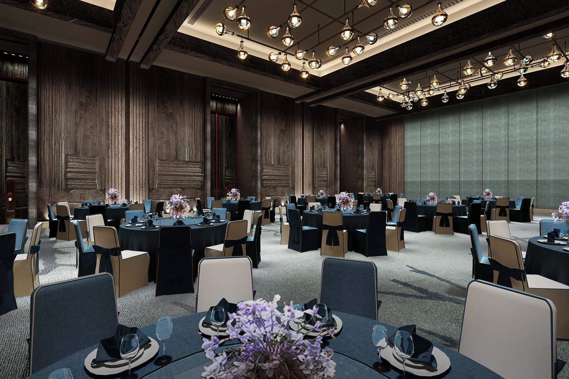 The Lighting Design Enlightens This Restaurant And Creates